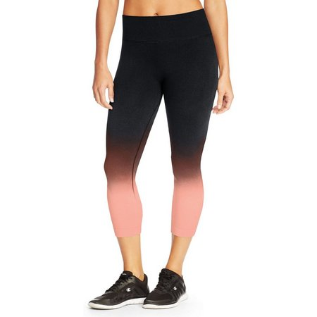 Champion Womens Seamless Dip Dye Capris