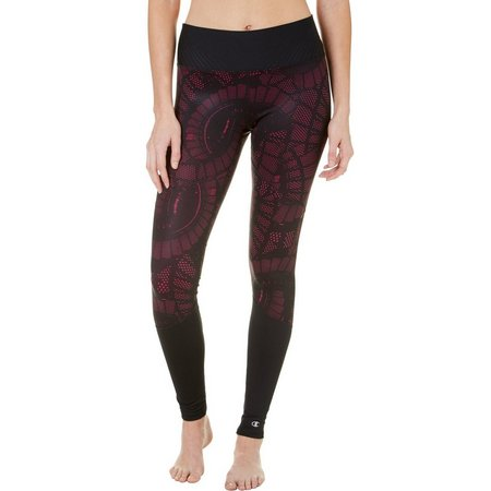 Champion Womens 6.2 Printed Run Tights