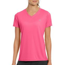 New! Champion Womens Vapor Solid V-Neck Active T-Shirt