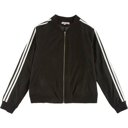 Inspired Hearts Juniors Stripe Active Jacket