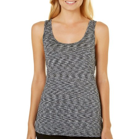 Inspired Hearts Juniors Space Dye Strappy Back Tank