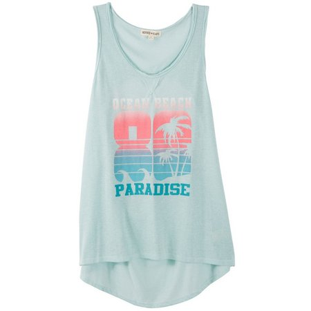 Inspired Hearts Juniors Ocean Beach Tank Top