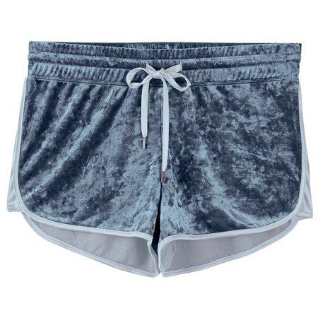 Inspired Hearts Juniors Velvet Dolphin Shorts