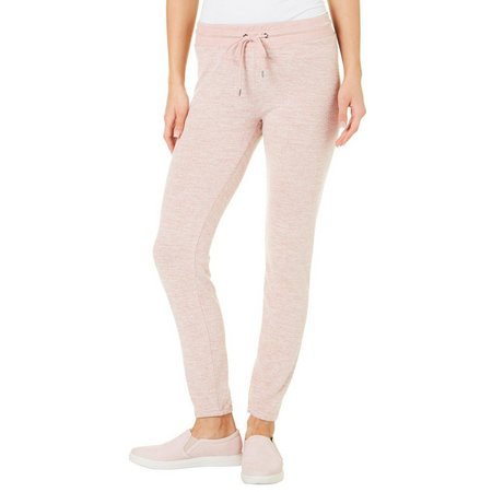 Inspired Hearts Juniors Marled Knit Straight Leg Pants