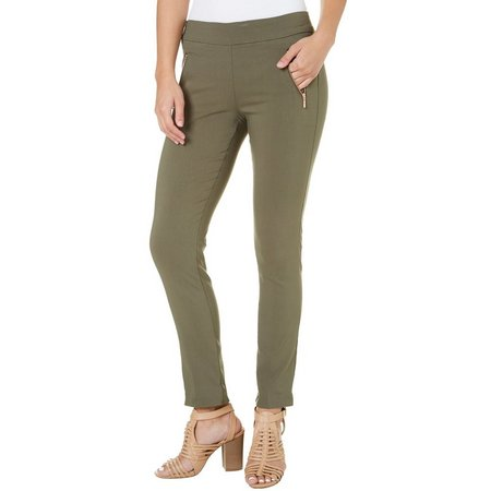 New! My Michelle Juniors Mill Zipped Skinny Ankle
