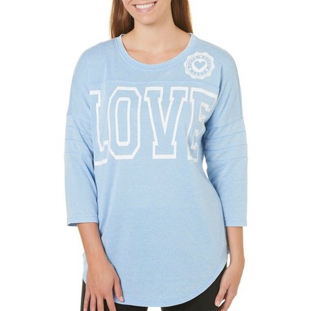 Miss Chievous Juniors Love Sweeper Long Top