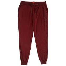 Hot Kiss Juniors Solid Ribbed Jogger Pants