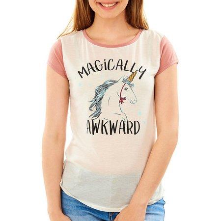 Wallflower Juniors Magically Awkward T-Shirt