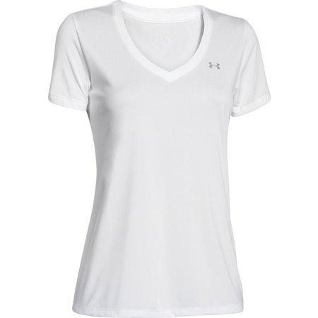 Under Armour Womens Tech V-Neck T-Shirt