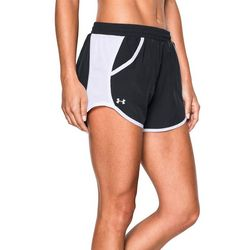 Under Armour Womens Mesh Panel Fly Run Shorts