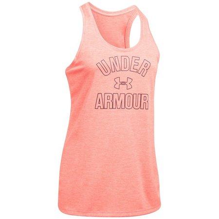 Under Armour Womens Tech Twist Wordmark Tank Top