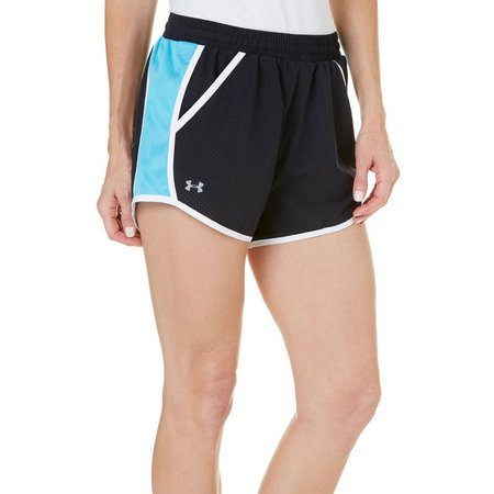 Under Armour Womens Fly-By Perforated Shorts