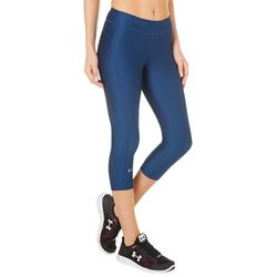 Under Armour Womens HeatGear Solid Capri Leggings