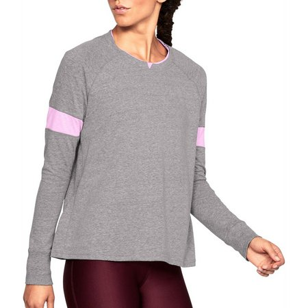 Under Armour Womens Heathered Sports Style Long Sleeve