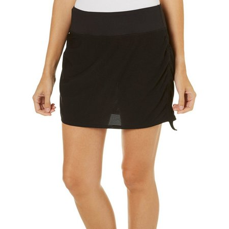 Brisas Womens Double Layer Mesh Run Skort