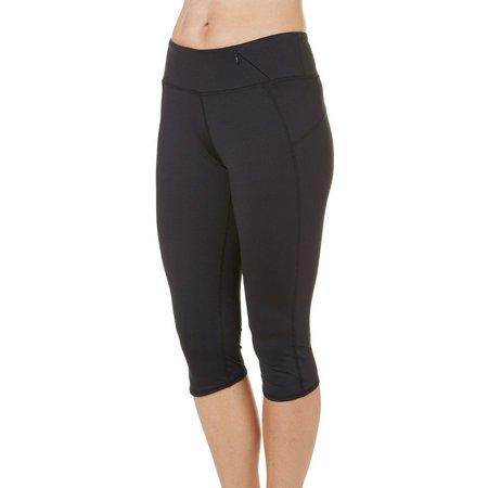 Brisas Womens Knee Length Capri Leggings