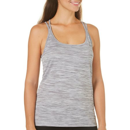 Brisas Womens Crisscross Strappy Back Tank Top