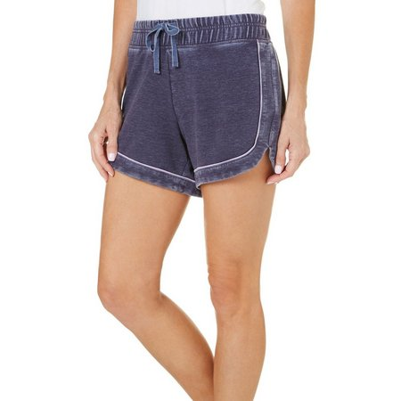 Brisas Womens Mineral Wash Active Shorts