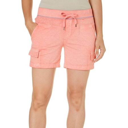 Brisas Womens Terry Cargo Pocket Shorts