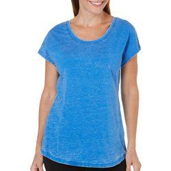 Brisas Womens Acid Wash T-Shirt