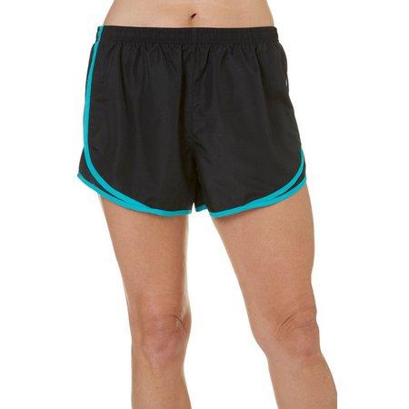 Brisas Womens Colorblocked Woven Shorts