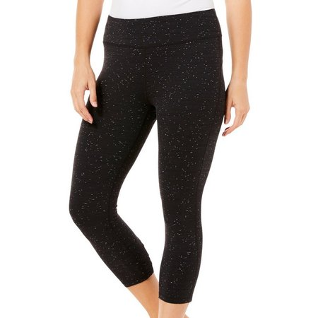 Brisas Womens Lattice Capri Leggings