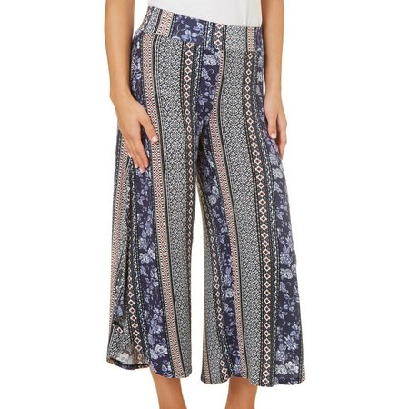 New! Be Bop Juniors Asymmetrical Hem Gaucho Pants