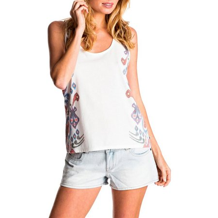 Roxy Juniors Croco Island Geo Print Tank Top