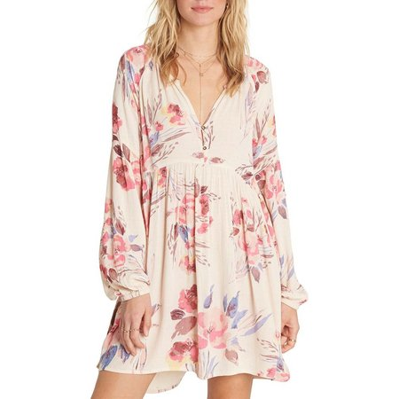 Billabong Juniors Until Tomorrow Floral Dress