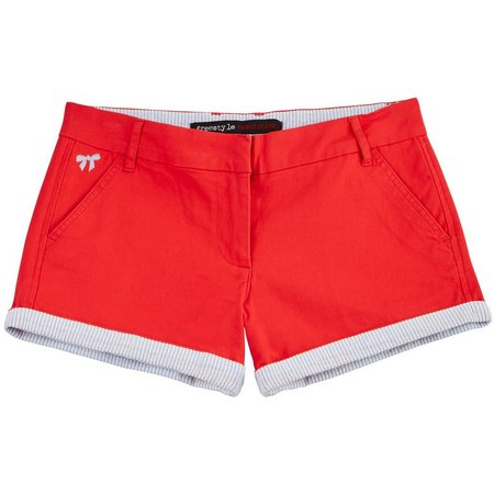 New! Freestyle Revolution Juniors Stripe Hem Shorts