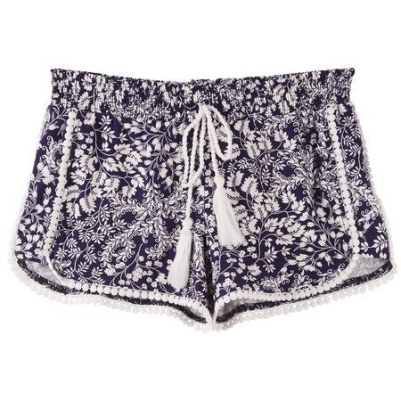 Hot Kiss Juniors Floral Printed Shorts