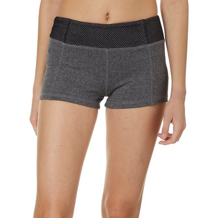 Hot Kiss Juniors Mesh Waist Shorts