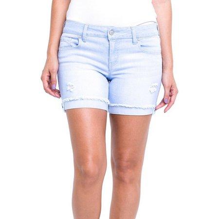 Celebrity Pink Juniors Light Wash Denim Shorts