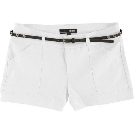 Be Bop Juniors Cactus Belt & Solid Shorts