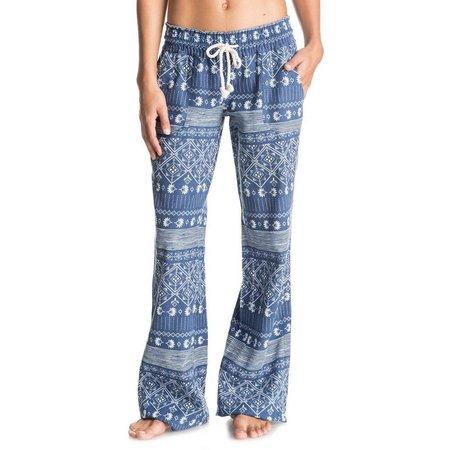 Roxy Juniors Geo Print Oceanside Pants