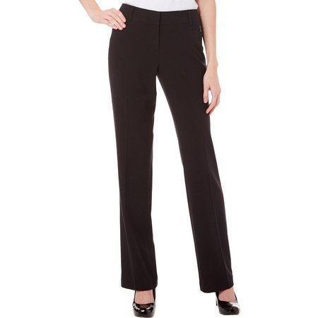 A. Byer Juniors Solid Straight Leg Pants