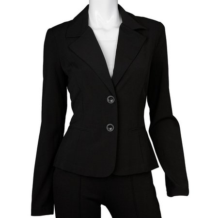 A. Byer Double Button Front Jacket