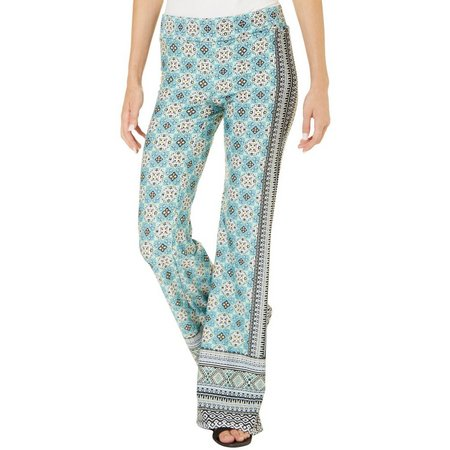 A. Byer Juniors Geometric Print Pull On Pants
