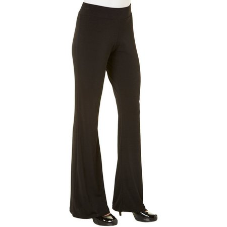 A. Byer Juniors Pull-On Solid Flare Pants
