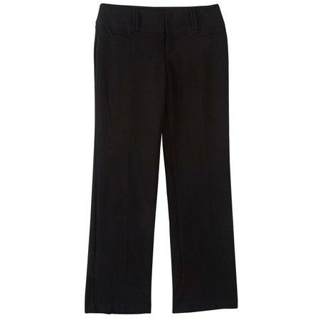 A. Byer Juniors Magic Waist Straight Fit Pants