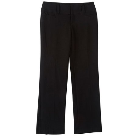 A. Byer Juniors Solid Straight Fit Pants