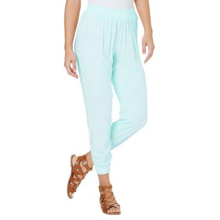 Essentials New York Juniors Striped Jogger Pants