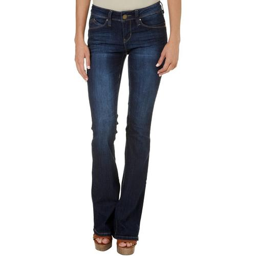 Black skinny jeans for juniors