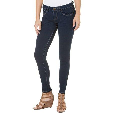 29c40a47d95 YMI Juniors Super Soft Faded Skinny Jeans