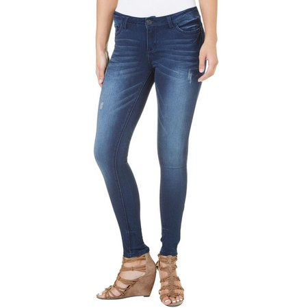 1st Kiss Juniors Get Lift Destructed Skinny Jeans