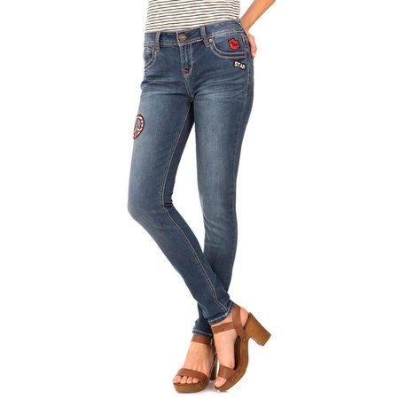Wallflower Juniors DIY Patchwork Skinny Jeans