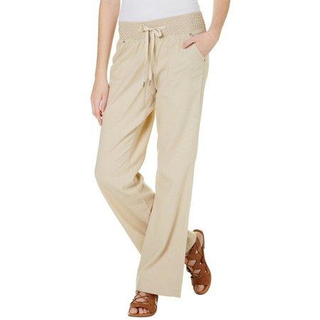 Tyte Juniors Solid Linen Pants