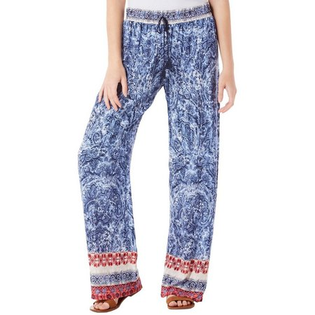 Be Bop Juniors Paisley Print Wide Leg Soft