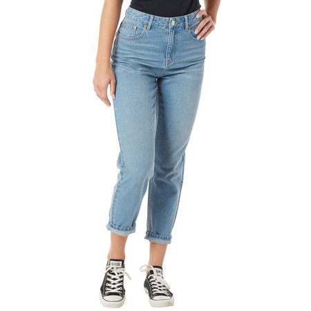 Unionbay Juniors Madonna Mom Fit Relaxed Jeans