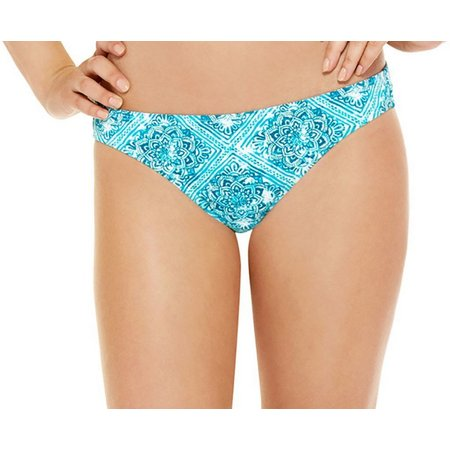 95 Degrees Juniors Retro Daze Hipster Swim Bottoms
